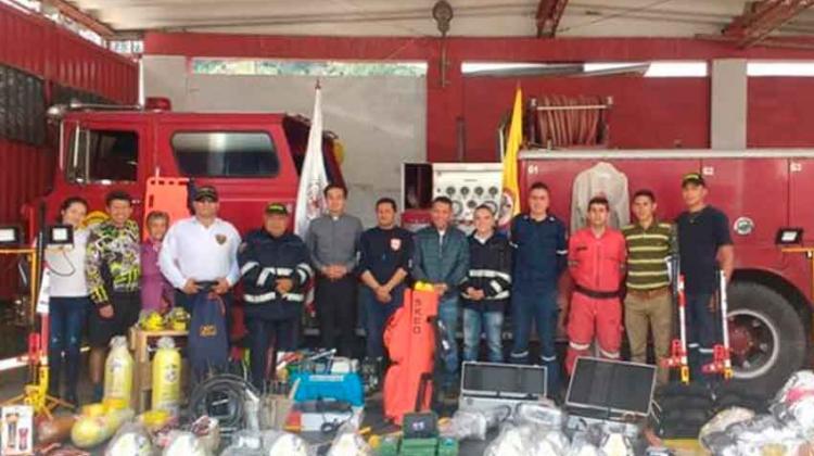 Invierten $140 millones en Bomberos de Pamplona