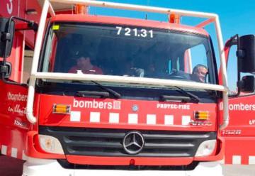 Precaria situación en el parque de bomberos de Sant Feliu