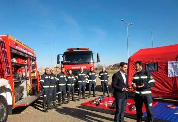 Bomberos de Zamora renuevan su equipamiento