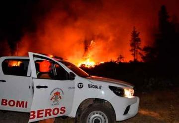 Bomberos en Alerta Amarilla por los Incendios Forestales en Chubut