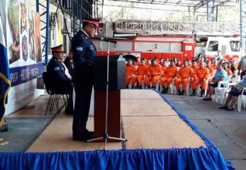 Bomberos conmemora su 136 aniversario de fundación