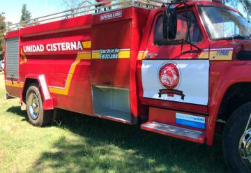 Nueva unidad para bomberos voluntarios de Feliciano