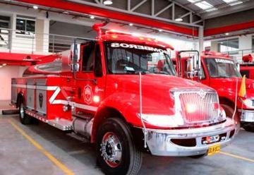 Nuevo carro de bomberos para Bomberos de Soacha