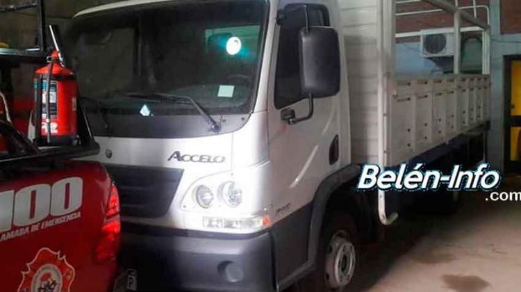 Bomberos Voluntarios de Belén adquirió un Camión