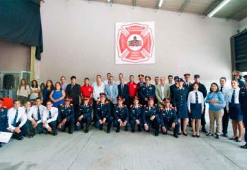 Bomberos de Trelew realizaron el festejo de su 43° Aniversario