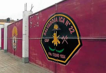 Cuartel de Bomberos de Ica está inhabitable desde el 2007