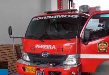Bomberos de Pereira recibió una nueva máquina