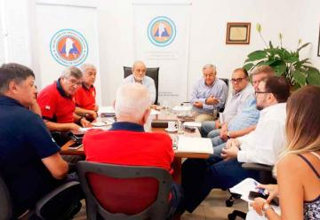 Mesa de Trabajo junto a la Secretaría de Protección Civil