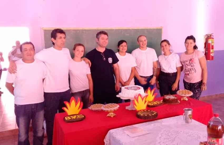 La localidad de Garupá ya posee Bomberos Voluntarios