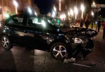Carro de Bomberos protagonizó violenta colisión