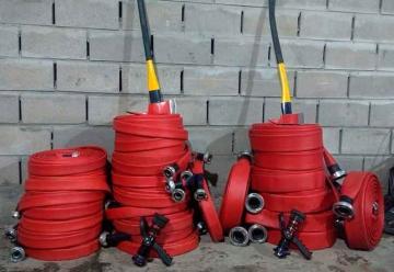 Bomberos de Merlo sumaron una unidad nueva y equipamiento