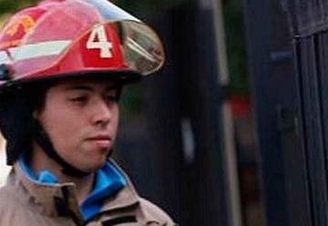 Bombero fue atropellado por carro bomba en incendio forestal