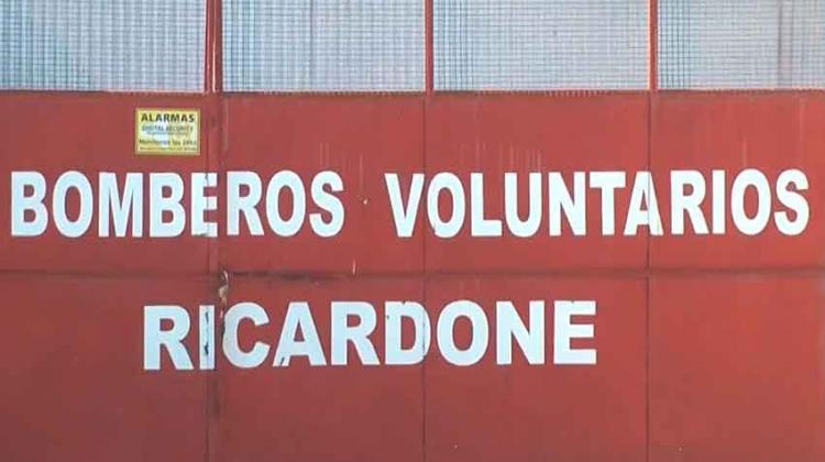 Bomberos Voluntariosa de Ricardone cada vez más cerca