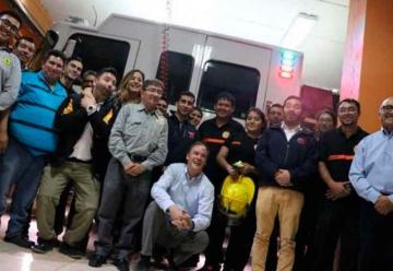 Bomberos de Calama reciben inmueble para emplazar nuevo cuartel