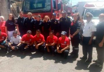 El cuerpo de Bomberos de Carazo estrenan ambulancia