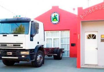 Bomberos de Emilio V. Bunge adquirió un camión