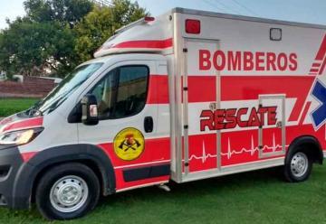 Nueva Unidad Sanitaria y Rescate Liviano deBomberos de Monte Maíz
