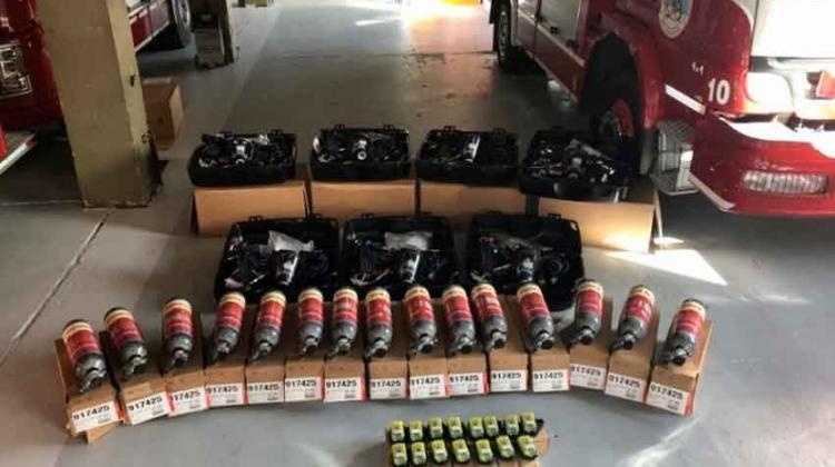 Bomberos Voluntarios de Ushuaia adquirió nuevos equipos