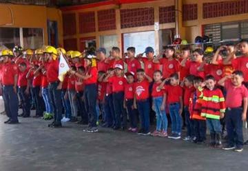 Brigada Infantil de Bomberos celebra 24 aniversario