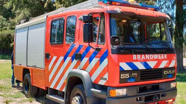 Bomberos de Cañada de Gómez recibieron nueva autobomba