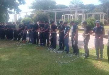 Bomberos de Chaco y Corrientes se capacitaron en rescates