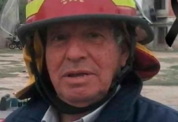 Profundo pesar por la muerte de un destacado bombero voluntario
