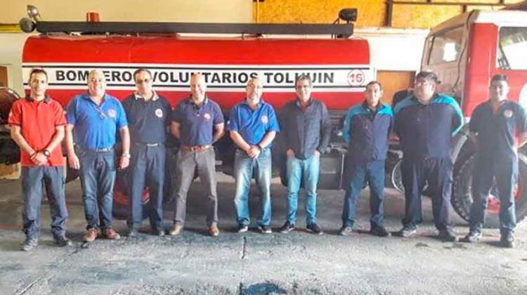 Se reunió la Federación de Bomberos en Tolhuin