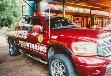 Bomberos voluntarios Isla del Cerrito incorporo una nueva unidad