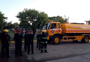 Nueva unidad para Bomberos voluntarios de Villaguay