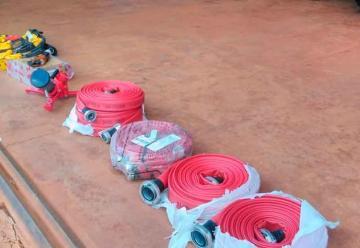 Bomberos voluntarios adquirieron nuevo equipamiento