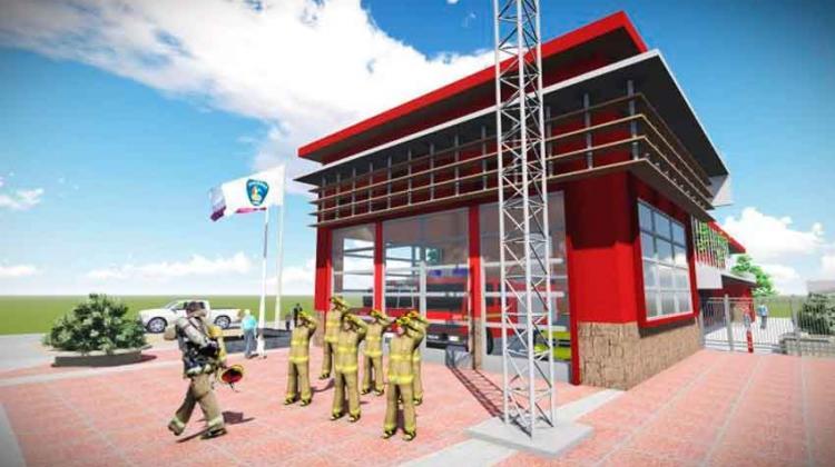 Bomberos de San Nicolás tendrán moderno cuartel
