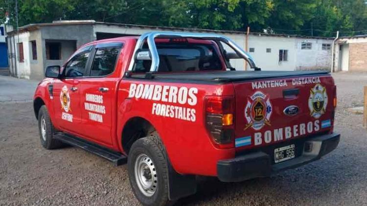 Bomberos de Tunuyán suma nueva unidad de apoyo