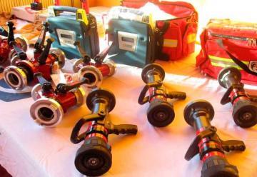 Bomberos compró equipamiento con dineros requisados