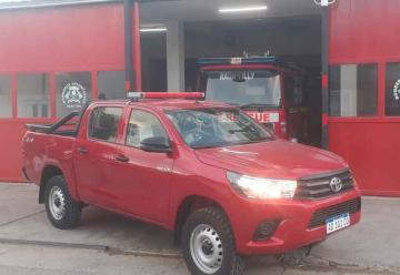 Bomberos de Rada Tilly cuenta con nuevo equipamiento