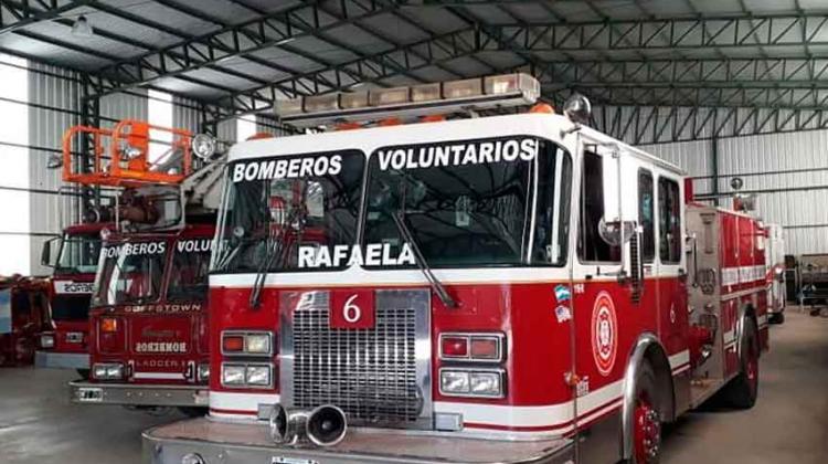Bomberos de Rafaela cumplieron sus primeros 10 años de vida