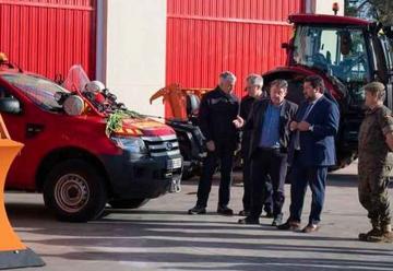 Bomberos de Castellón adquieren nuevos vehículos para emergencia