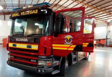Nuevo autobomba para Bomberos Voluntarios de General Villegas