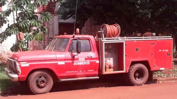 Fueron desafectados los bomberos de Concepción