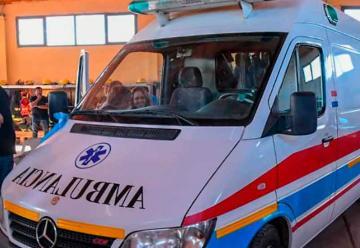 Entregaron una ambulancia a Bomberos de Rincón de los Sauces