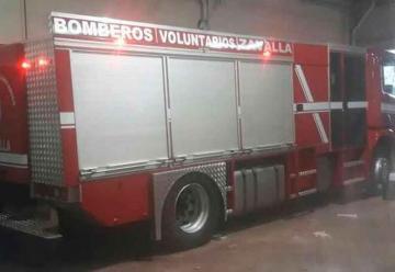 Nueva autobomba para el cuartel de Bomberos de Zavalla