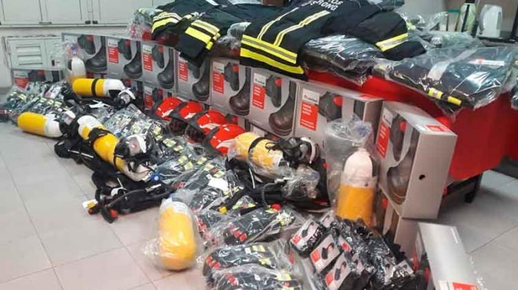 Bomberos de Armstrong compraron nuevo equipamiento