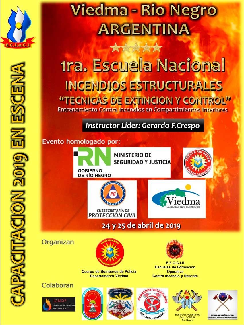 1ra. Escuela nacional de incendios estructurales