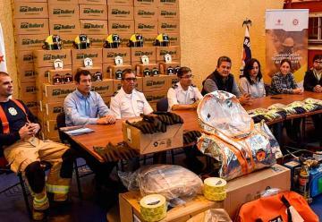 Bomberos de Calama recibió 500 nuevos equipos e implementos