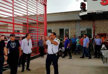 Bomberos de Barranquilla celebran sus 92 años