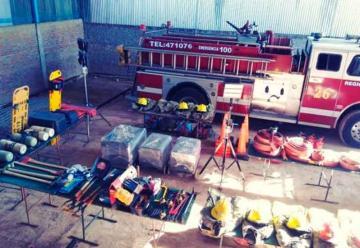 Bomberos Voluntarios de Empalme inaugurarán su cuartel
