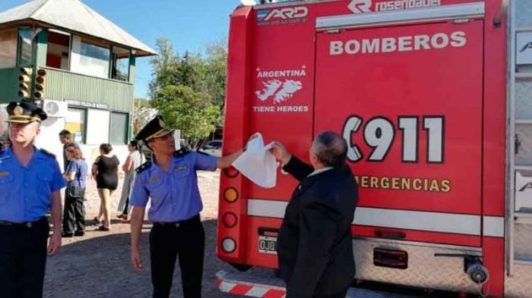 Bomberos homenajeó a los excombatientes retirados