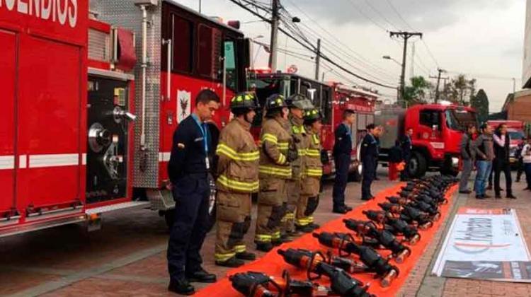 Nuevos equipos para el Cuerpo de Bomberos de Bogotá