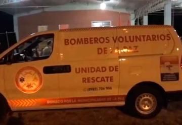 Moderna unidad para Bomberos Voluntarios de La Paz