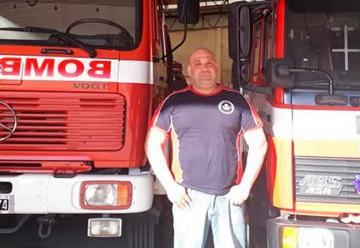 Roberto Scafati es el nuevo presidente de los Bomberos de Berisso