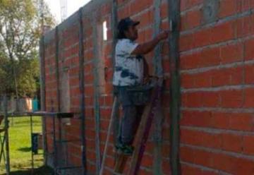 Avanza la construcción de un cuartel de bomberos en El Peligro